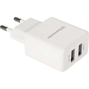 Soennecken USB Poweradapter 71640 weiß
