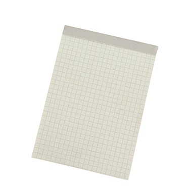 Soennecken Notizblock 1252 DIN A6 RC 60g kariert 50Blatt weiß