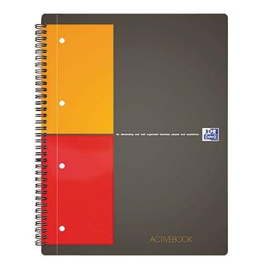 Oxford Collegeblock Activebook 100104329 DIN A4+ 80Blatt kariert