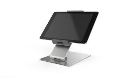 TABLET HOLDER TABLE 893023 Durable Tablet-Halter silber