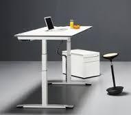 OKA Sitz/Steh-Tisch Jump Basic, Maße: 160 x 80 höhenverstellbar 68-118cm