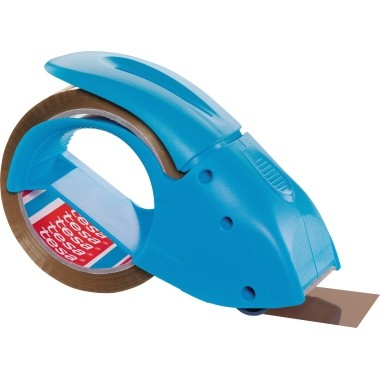 tesa Packbandabroller Pack n Go 51112 blau