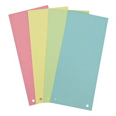 Soennecken Trennstreifen 1598 10,5x24cm farbig bunt 100 Stück / Pack