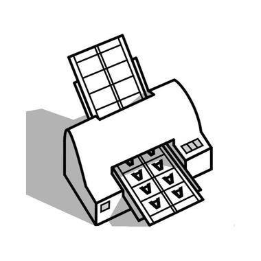 Avery Zweckform Visitenkarte C32016 25 Din A4 Weiß 10 St Pack