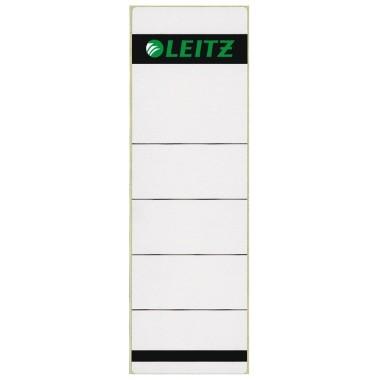 Leitz Ordneretiketten 1642 kurz / breit 10 Stück weiß