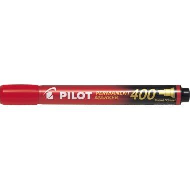 PILOT Permanentmarker SCA-400-R 4011002 4mm Keilspitze rot