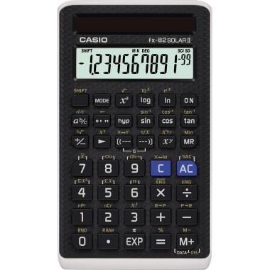 CASIO Schulrechner FX-82 SOLAR II schwarz