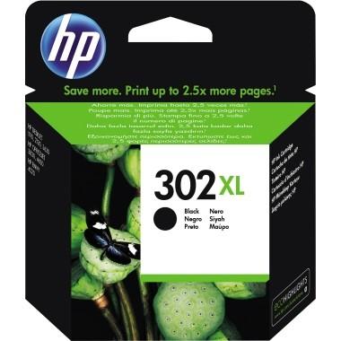 HP Tintenpatrone F6U68AE 302XL 480 Seiten schwarz