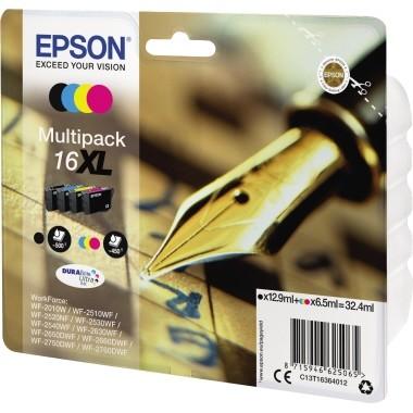 Epson Tintenpatrone C13T16364012 sw/c/m/y 4 St./Pack.