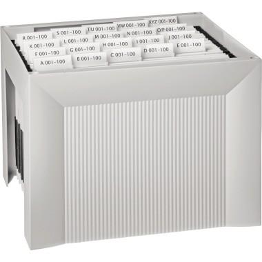 HAN Hängebox KARAT 1905-11 DIN A4 für 35Mappen lichtgrau