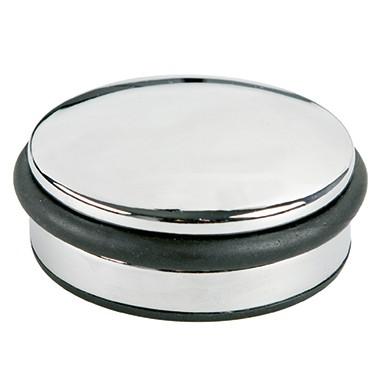 ALCO Türstopper 2850 10x4cm 1100g Metall/Gummi chrom