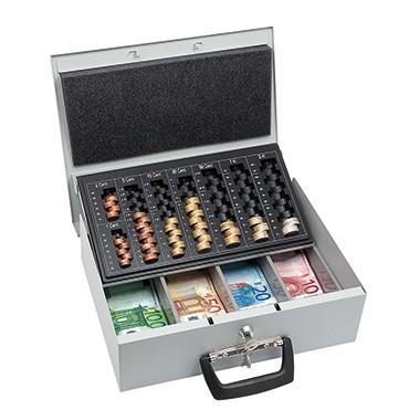 WEDO Geldkassette Universal 35,5x10x27,5cm Stahl