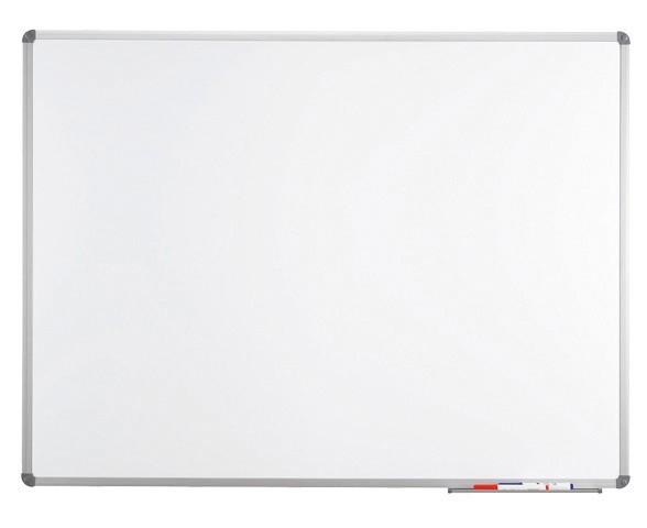 Maul Magnettafel aus Emaille MAULstandard 6463084, 90 x 180 cm, magnethaftend, beschreibbar weiß