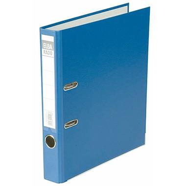 ELBA Ordner Rado Lux brillant 100022605 schmal blau