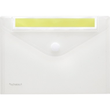 Foldersys Sichttasche 40162-04 Index DIN A5 quer tr 10 St./Pack.