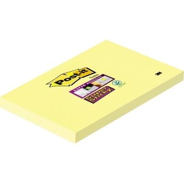 Post-it Haftnotizen Super Sticky 127x76mm 90 Batt gelb