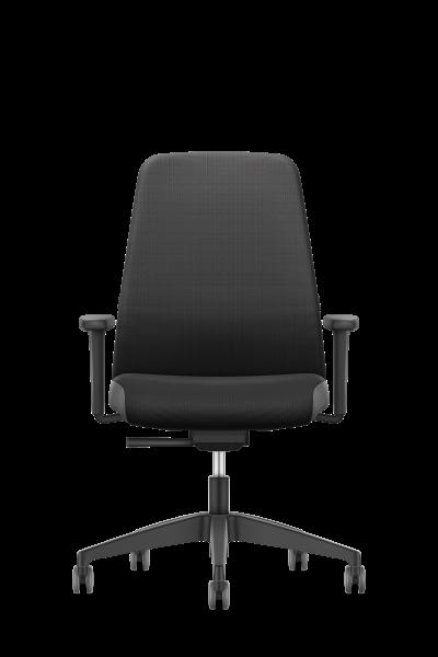 Bürostuhl Sondermodell NEW EVERYis1 mit gepolstertem Rücken von Interstuhl