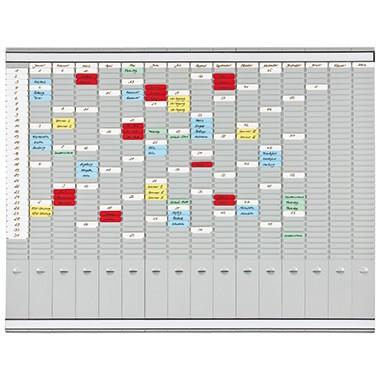 Franken T-Kartentafel PV1015 100,8x78,3cm grau +Zubehör