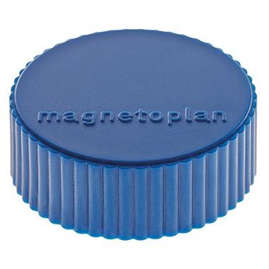 Magnetoplan Magnet Discofix Magnum 1660014 34mm D Blau 10 St Pack