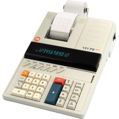 Triumph-Adler Tischrechner 121 PD Eco 12Zeichen Netz weiß