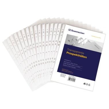 Soennecken Prospekthülle 1502 DIN A4 PP transparent 100 St./Pack.