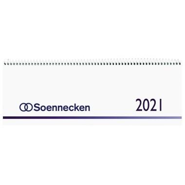 Soennecken Schreibtischquerkalender 2021 1 Woche/1 Seite
