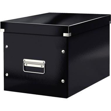 Leitz Archivbox Click & Store Cube 61080095 L schwarz