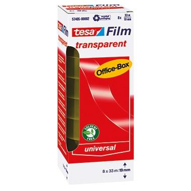 tesa Klebefilm tesafilm 57405-00002 19mmx33m tr 8 Stück/Pack