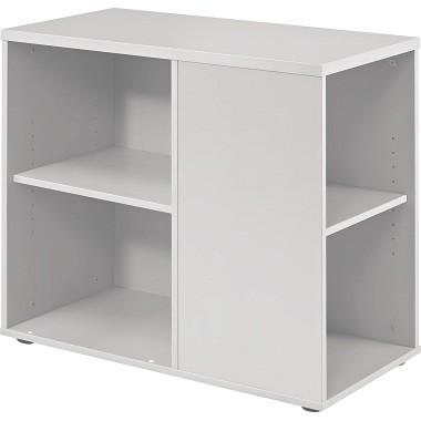 Hammerbacher Anstellcontainer Basic V1630/W 40x80x72cm weiß
