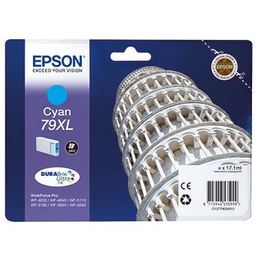 Epson Tintenpatrone C13T79024010 79XL 2.000Seiten cyan