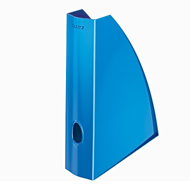 Leitz Stehsammler WOW 52771036 DIN A4 60mm PS blau metallic