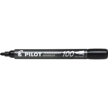PILOT Permanentmarker SCA-100-B 4010001 1mm Rundspitze schwarz