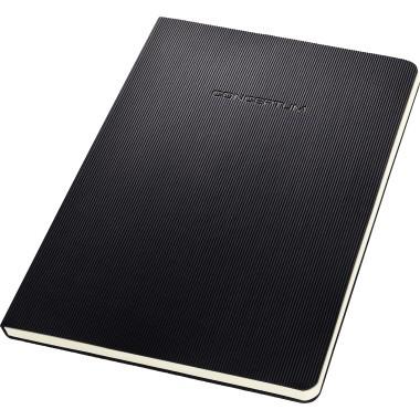 Sigel Notizblock Conceptum C0803 Hardcover A5 liniert 80g sw