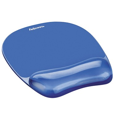 Fellowes Mauspad 91141 200x25x230mm Handgelenkauflage blau