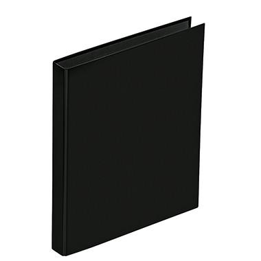 PAGNA Ringbuch Basic Colours DIN A4 2 Ringe schwarz