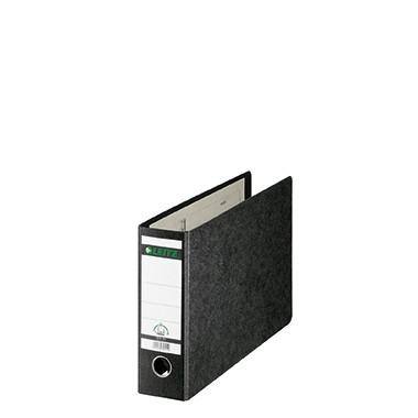 Leitz Ordner 10740000 DIN A4 quer 80mm Pappe schwarz