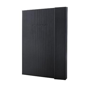 Sigel Notizbuch Conceptum CO151 DIN A4 Hardcover kariert schwarz
