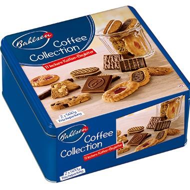Bahlsen Gebäckmischung Coffee Collection 36240 2x500g