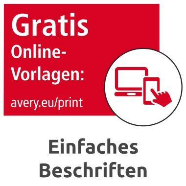 Avery Zweckform Visitenkarte C32010 25 Weiß 250 St Pack