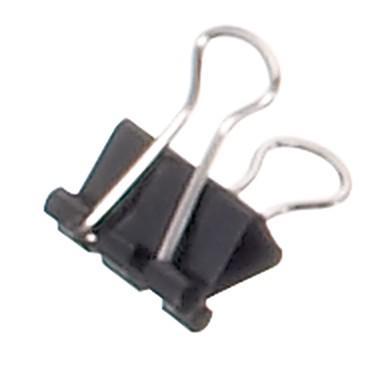 MAUL Foldbackklammern maulys 2141690 16mm Weite 5mm12 Stück schwarz