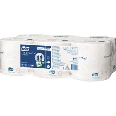 Tork Toilettenpapier SmartOne 472242 2-lagig weiß 6 Ro/Pack