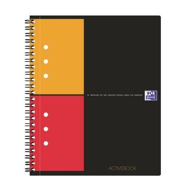 Oxford Collegeblock Activebook 100102880 DIN A5+ kariert 80Bl.