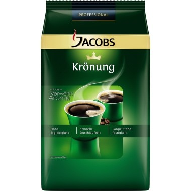 JACOBS Kaffee Krönung Gastronomie 2071 gemahlen 1kg