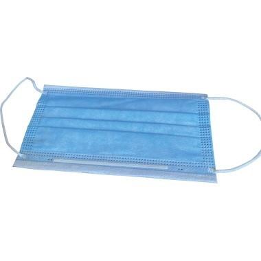Dynatise Mundschutzmasken, blau, 50 Stück