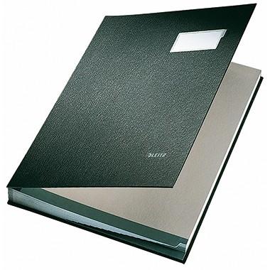 Leitz Unterschriftsmappe 5700 DIN A4 20 Fächer schwarz