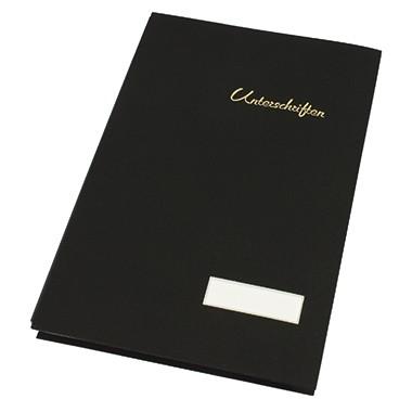 Soennecken Unterschriftsmappe schwarz