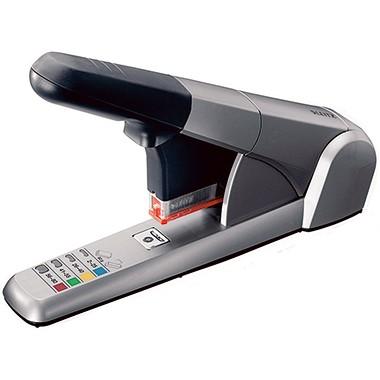 Leitz Blockheftgerät 55510084 max. 80Blatt Metall/Kunststoff si