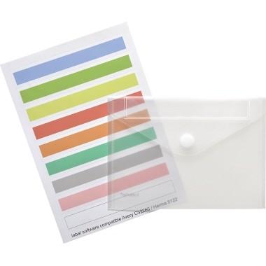 Foldersys Sichttasche 40161-04 Index DIN A4 quer tr 10 St./Pack.