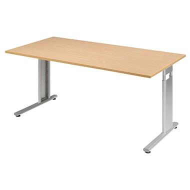 Geramöbel Schreibtisch Flex S-617103-BS 160x80x68-82cm bu/si