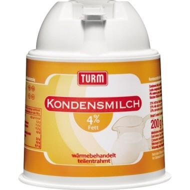 TURM Kaffeesahne 33300 4Prozent 186ml 200g
